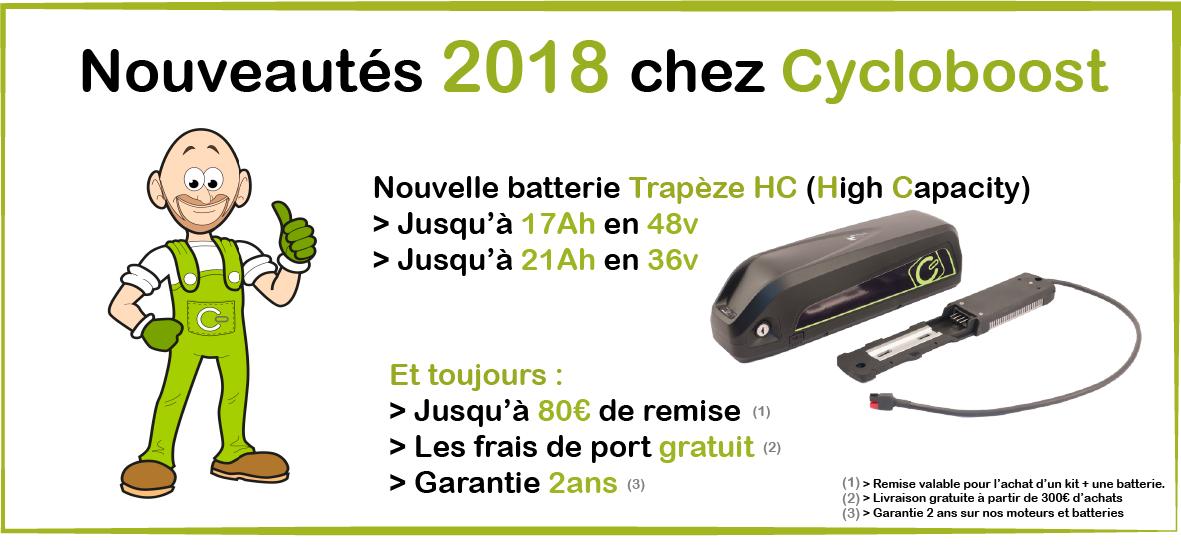 Les + Cycloboost !