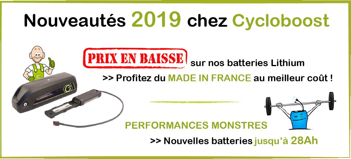 Baisse tarif batterie 2019