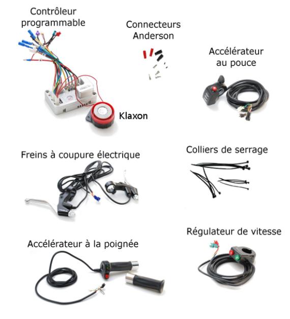 Contrôleur vélo électrique