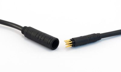 Connectique étanche moteur