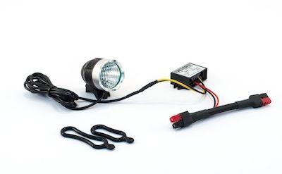 Eclairage pour vélo sur batterie puissant