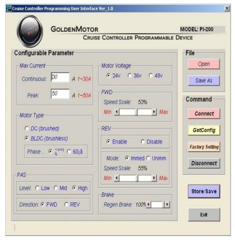 contrôleur Golden Motor