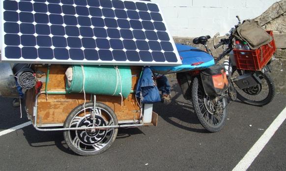 velo electrique solaire