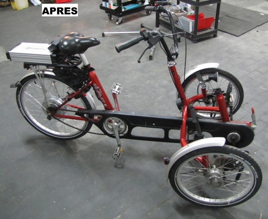 Cas usages cycloboost - Tricycle couche electrique ...