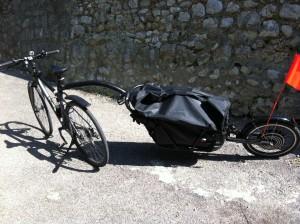 remorque vélo électrique