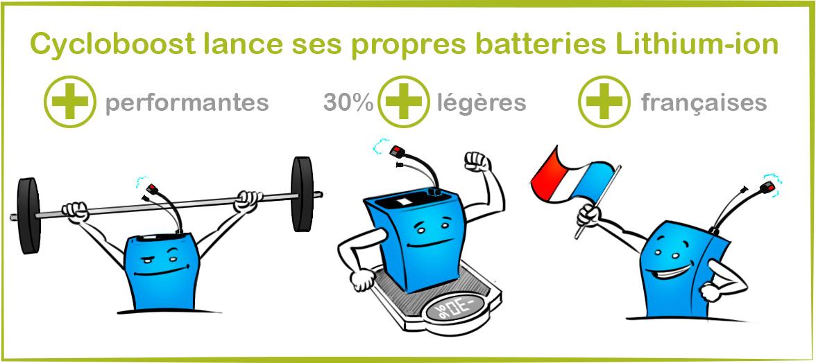 Batteries Lithium-ion nouvelle génération