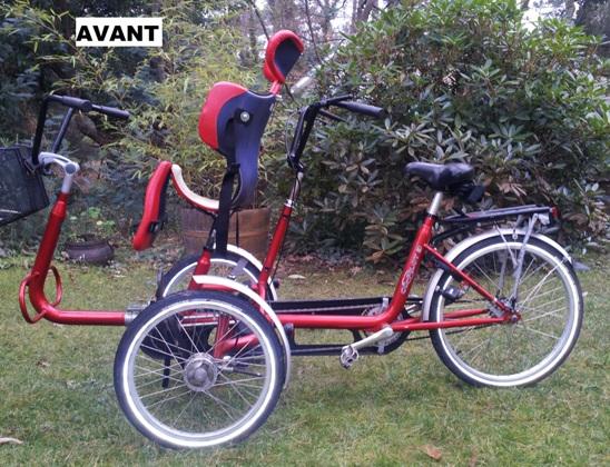 tricycle électrique handicap
