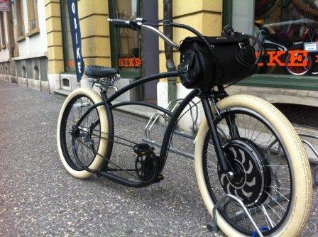 beach bike électrique
